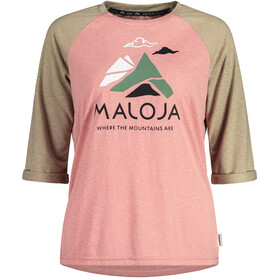 Maloja LüsaiM. 3/4 Longsleeve All Mountain Jersey Dames, lotus